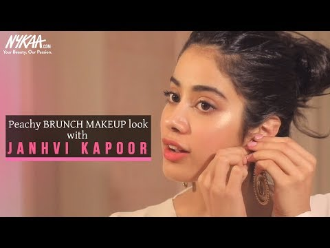 Xxx Mp4 Get Ready With Janhvi Kapoor Brunch Makeup Look Nykaa 3gp Sex