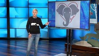 Ellen Launches #BeKindToElephants Campaign