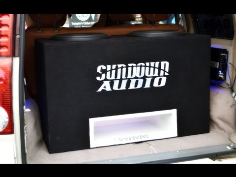 Bass Battle 2015 Delhi - 2 Sundown Audio SA 15 Doing 150 Db !!!!.. Sundown Audio India