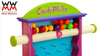 How to make candy even more fun? Candy Plinko!