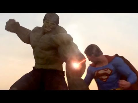 Superman vs Hulk The Fight Part 2