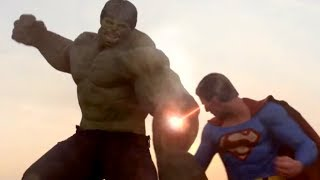 Superman vs Hulk - The Fight (Part 2)