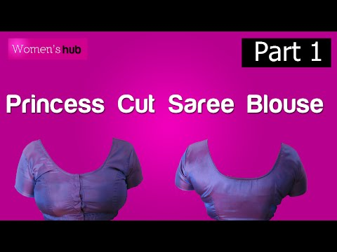 Princess Cut Blouse   1 Making the Pattern & Cutting the Fabric