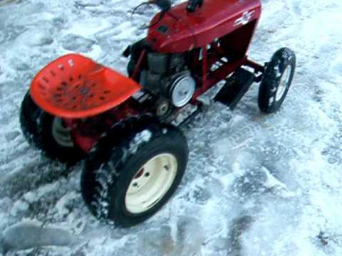crazy wheel horse race tractor