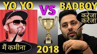 YO YO HONEY SINGH VS BADSHAH 2018 || honey singh new song | badshah new song | video by mafia viral
