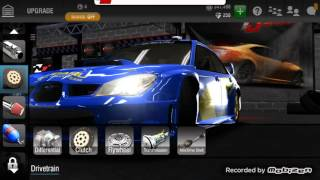 Racing Rivals Subaru wrc2006 1663 Turf tune