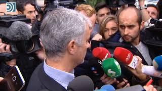 """Mourinho: """"No he discutido y he pagado"""""""