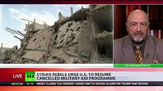 Syrian rebels urge US to resume cancelled military aid programme