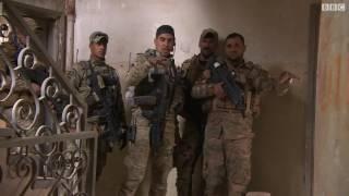 بي بي سي ترافق قناصة الرد السريع إلى الموصل القديمة