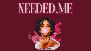 Rihanna - Needed Me (Remix ft. J Cole)