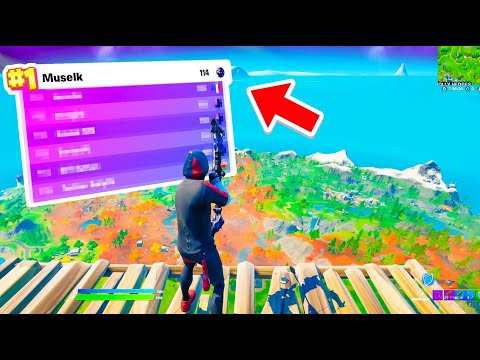I won Competitive Fortnite with memes
