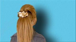 PERFECT Ponytail for Medium Length Hair | Volumized Ponytail