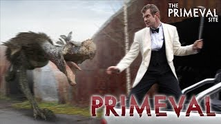 Primeval: Series 3 - Episode 6 - Terror Bird vs Danny Quinn Car Chase (2009)