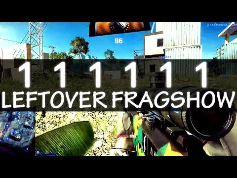[BF4] TIE_Ru スナイパー111111キル記念 ~ Leftover Fragshow