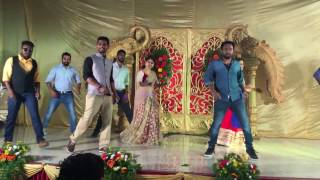Dance performance on Soumya's Sangeet ceremony..
