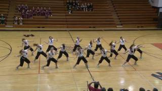 PNHS Poms - Black Eyed Peas Hip Hop dance competition routine 2010 at TDI Minooka Illinois Il