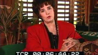 Margaret O'Brien 1996 Interview Part 1 of 4