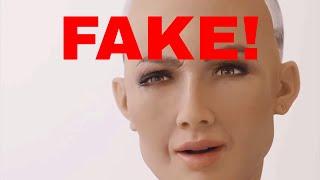Hanson Robotics Sophia is a Fake!