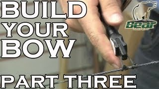 Build your Bow: Part 3 - Fitting the 'D-loop'