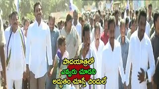 YS Jagan Prajasankalpa Yatra Meets Fans Ladies in Rajahmundry | East Godavari Dist | Cinema Politics