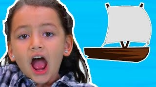 Row Row Row Your Boat | Nursery Rhymes | Kids Songs