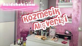Kozmetik  alisveris / Douglas / Azide Hobi