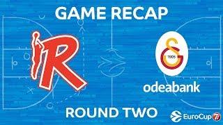 Highlights: Grissin Bon Reggio Emilia - Galatasaray Odeabank Istanbul