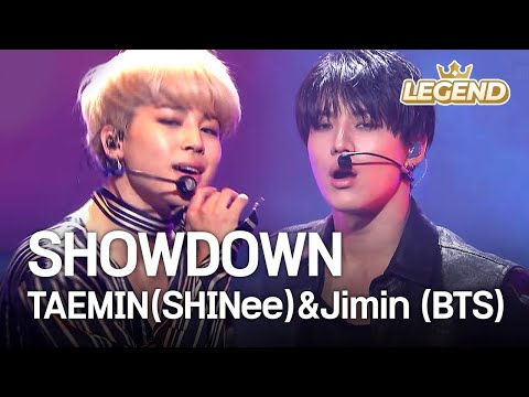 TAEMIN SHINee & Jimin BTS SHOWDOWN 2016 KBS Song Festival 2017.01.01
