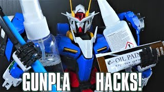 Mecha Gaikotsu's 10 Cheap And Lazy Gunpla HACKS!
