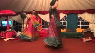 AWESOME Mehndi Dance! - The Story of Sheena & Rajeev