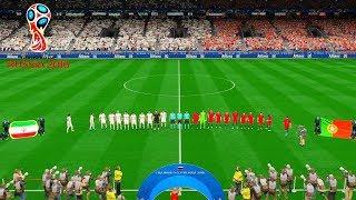 Iran vs Portugal   FIFA World Cup Russia 25 June 2018 Gameplay