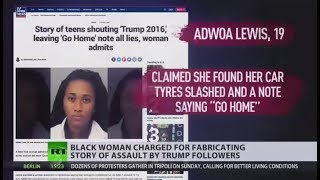 Playing the Victim: Woman charged for fabricating story about Trump-related hate crime
