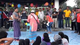 Noakhali Family Day 2016 (Natok 2) at Singapore East Coast Park