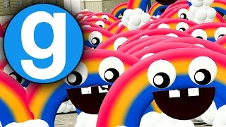 THE RAINBOW FNAF World Update 2   FUNNY GMOD MOMENTS!