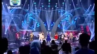 All Akademia - Menuju Puncak (Konser Eliminasi AFI 2013 - 221113)