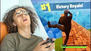 PLAYING FORTNITE FOR 24 HOURS! *World Record*