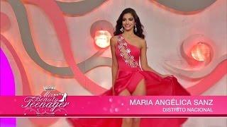 Miss Beauty Teenager Republica Dominicana 2015 Gala Final - Desfile en traje de baño