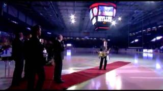 Jarmo Myllys Jersey Retirement in Coop Arena 2011-11-23 (TV Broadcast)