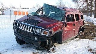 Latest Car Accident of Hummer H2 - Road - Crash - Compilation - Traffic - 2016 - 2017 - 2018