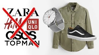 HOW TO STYLE CHEAP EASY MEN