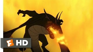 Quest for Camelot (4/8) Movie CLIP - Chased by Dragons (1998) HD