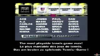 (PSX) Namco Tennis Smash Court Trailer PSXPLANET.RU