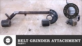 Angle Grinder Belt Grinding Attachment | Angle Grinder Hack | Home Made Tool | Diamleon Diy Builds