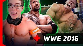 [WWE 2016] JOHN CENA VS THE ROCK - QUE PARTIDA DIFÍCIL!