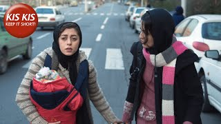 Iranian girl wants to hide her child at all costs   The Baby - Short Film by Ali Asgari