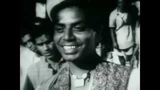 Shailendra's rare appearance in Musafir 1957 - Tedhi Tedhi Hum Se Phire Saari Duniyaa