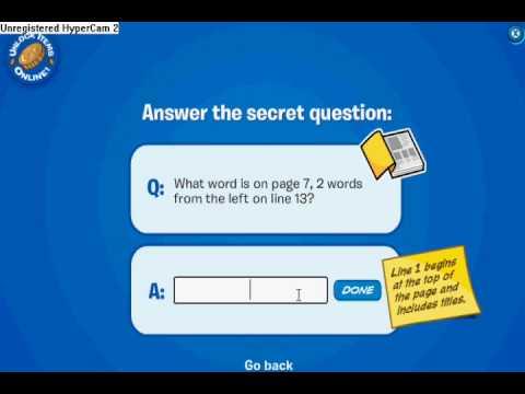 Codigos para el libro Stowaway de Club Penguin Codes to unlock the book in Club Penguin