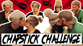 CHAPSTICK KISSING CHALLENGE WITH BRODIE SMITH AND KELSEY!! | Shawn and Andrew