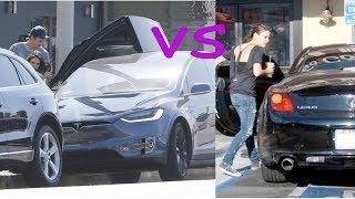Ashton Kutcher cars vs Mila kunis cars (2018)