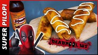 Las chimichangas de Deadpool (burritos fritos) - Receta